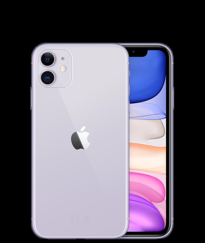 Apple iPhone 11, 128 ГБ, фиолетовый