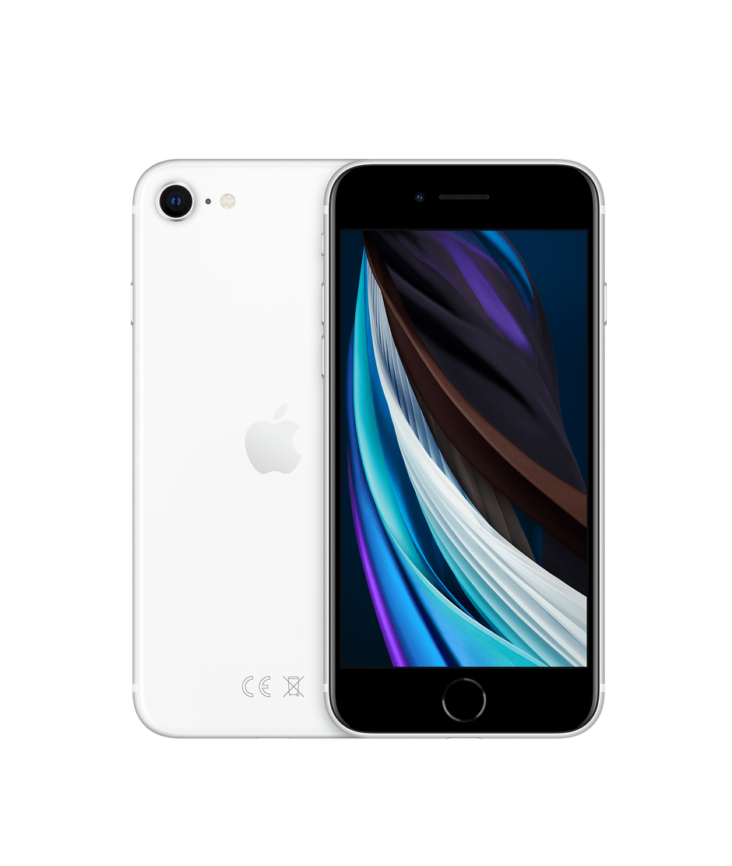 Apple iPhone SE, 128 ГБ, белый