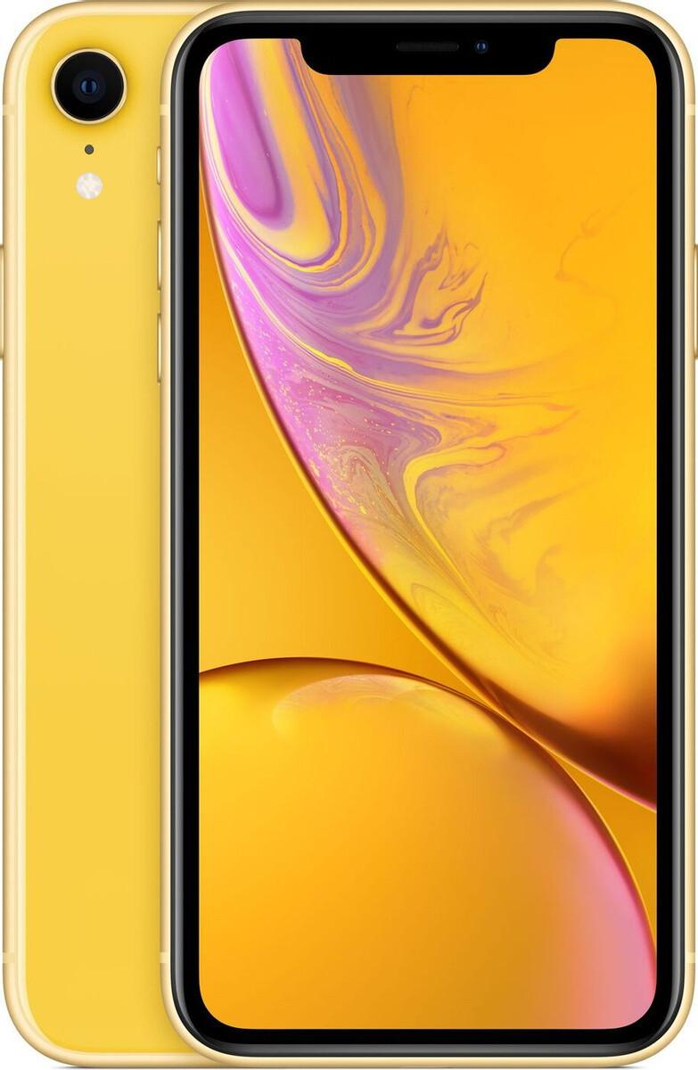 Apple iPhone XR, 128 ГБ, желтый