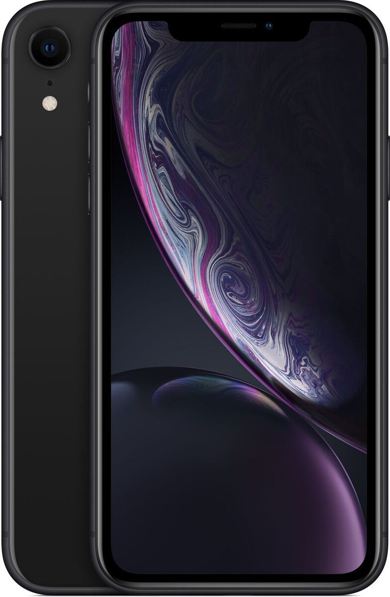 Apple iPhone XR, 64 ГБ, черный
