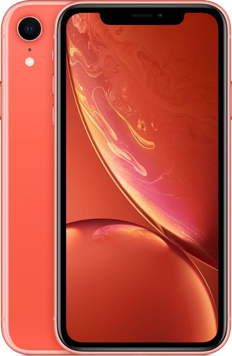 Apple iPhone XR, 64 ГБ, коралловый