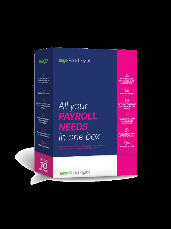 Sage Pastel Payroll- Annual