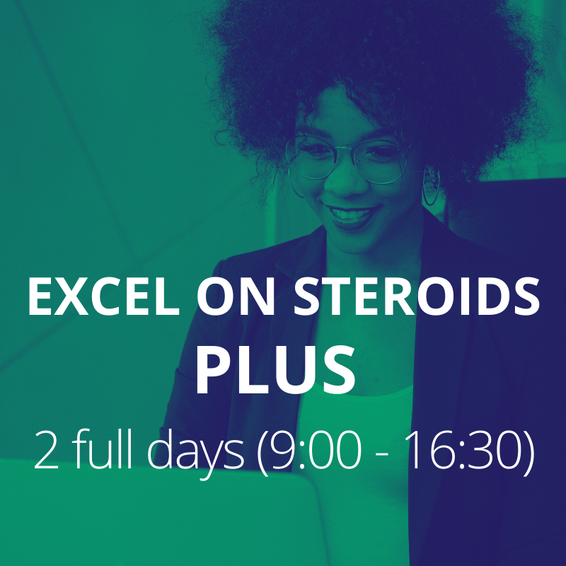 Excel on Steroids PLUS 2016
