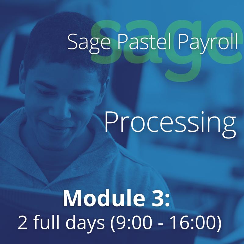 Module 3  SPP- Processing