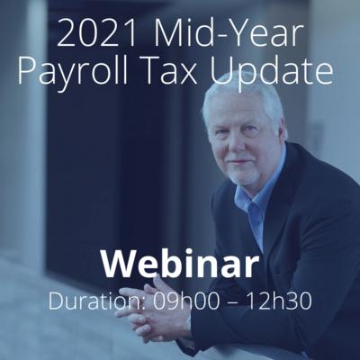 Mid-Year Payroll Tax Update Webinar