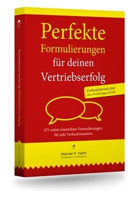 Fachbuch: Perfekte Formulierungen für deinen Vertriebserfolg