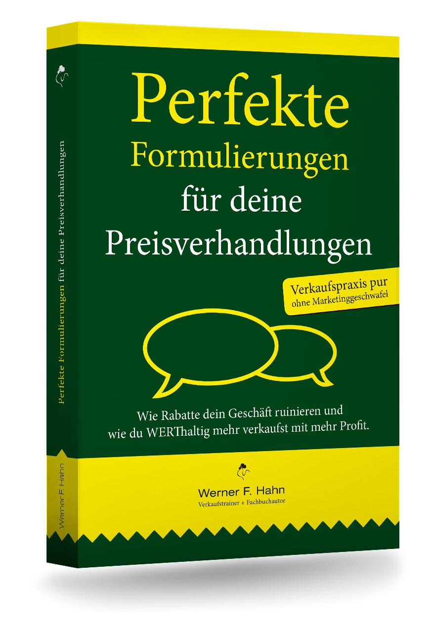 Fachbuch: Perfekte Formulierungen für deine Preisverhandlungen