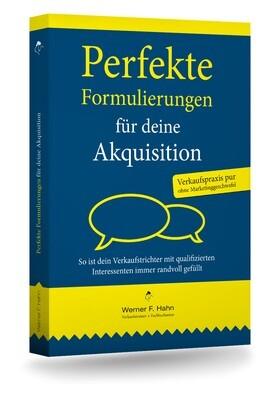 Fachbuch: Perfekte Formulierungen für deine Akquisition