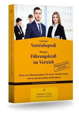 Fachbuch: Gestern Vertriebsprofi Morgen: Führungskraft im Vertrieb