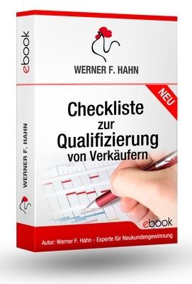ebook: Checkliste zur Qualifizierung von Verkäufern