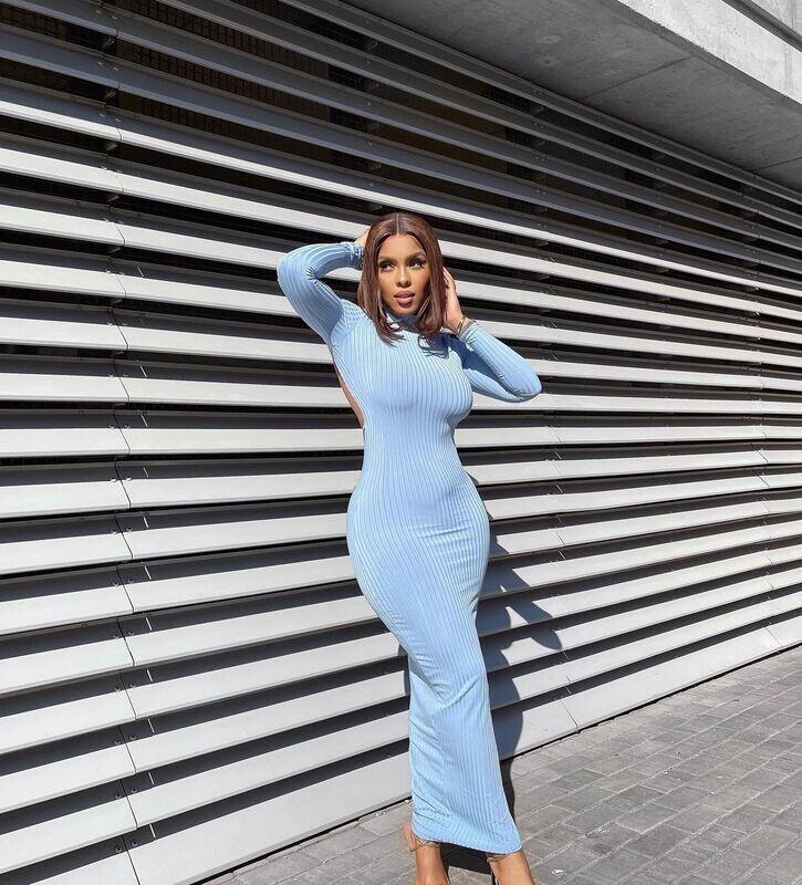 Blue Mi Sol Dress
