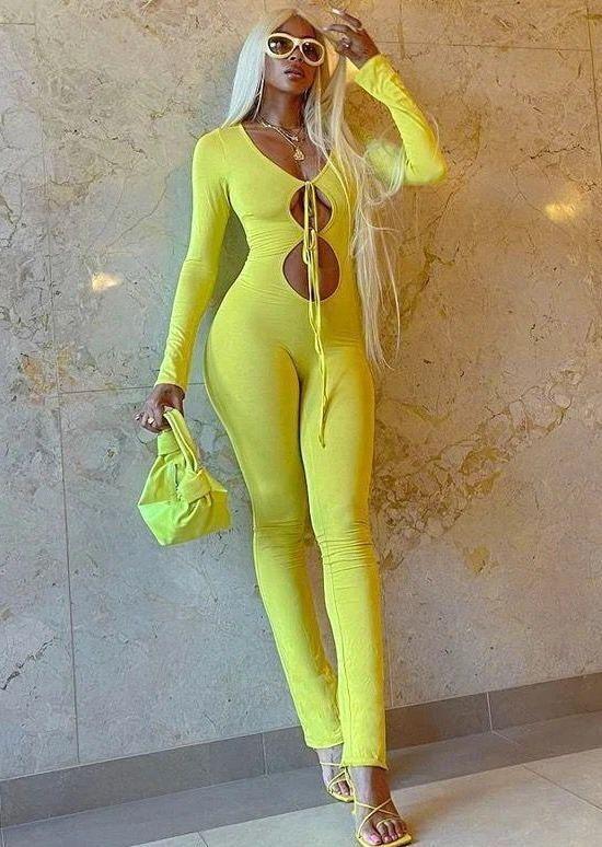 Neon Carmen Unitard Jumpsuit