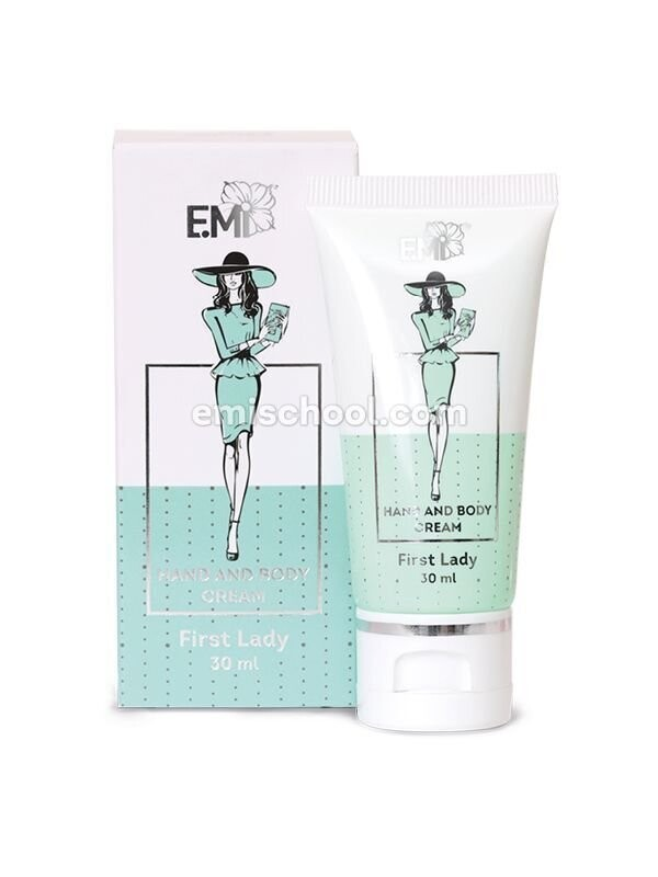 Hand and Body Cream First Lady, 30 ml.