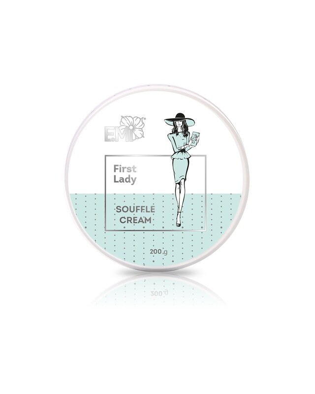 Hand and Body Cream Souffle First Lady, 200 ml.