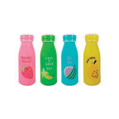 Botella De Agua Diseño De Frutas, 4 diseños.