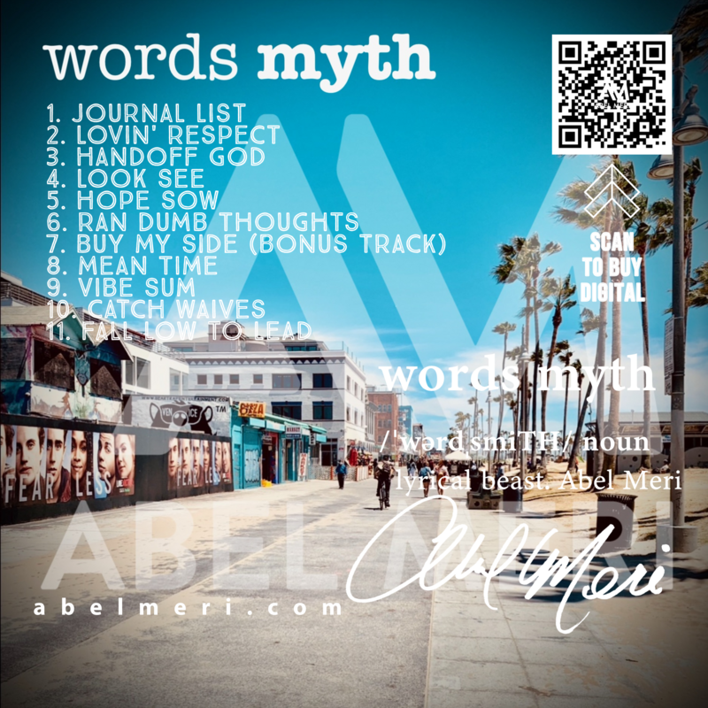 Abel Meri - Words Myth Album (CD)