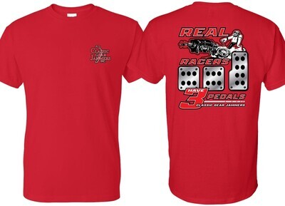 Red Gear Jammer Shirt + Hat Bundle