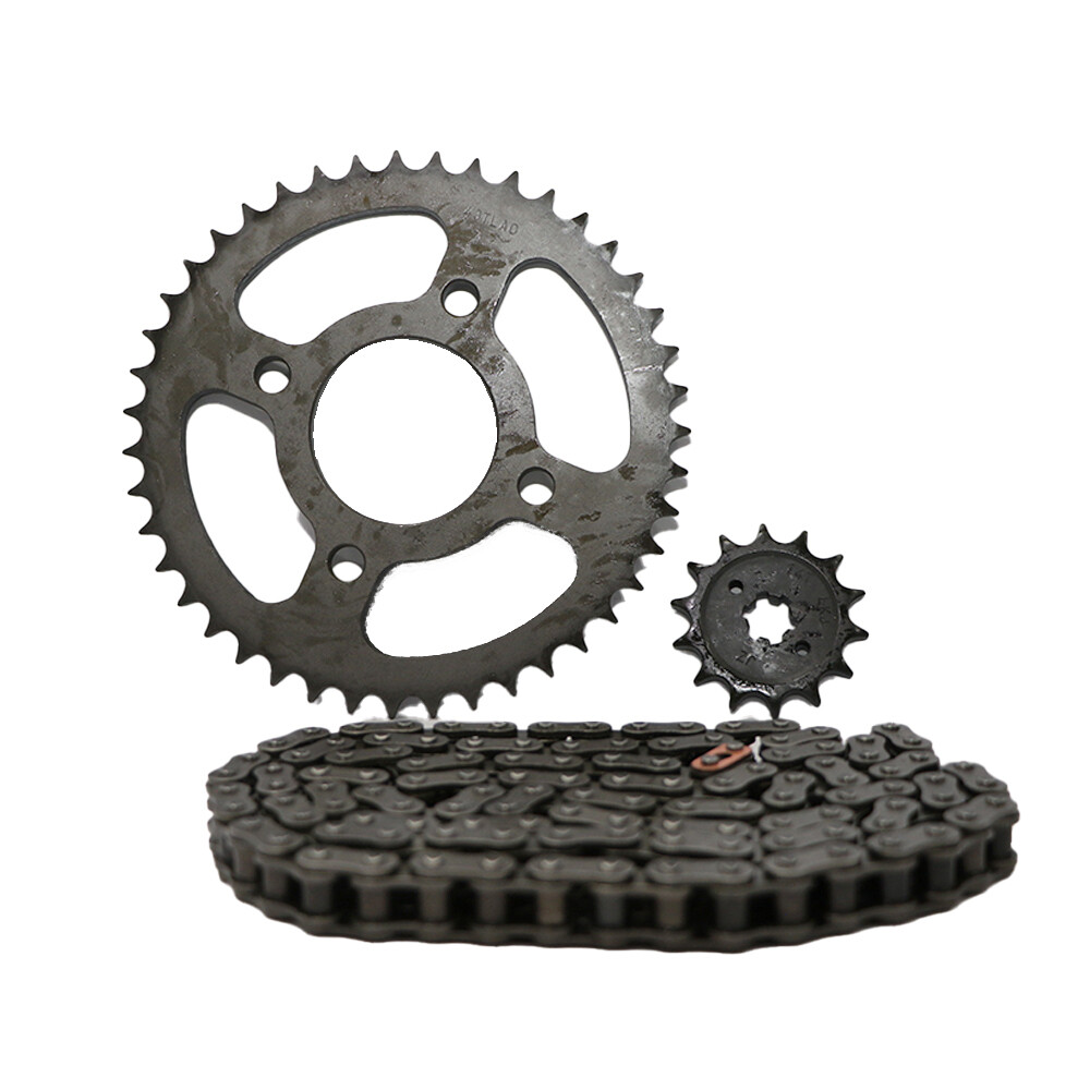 CHAIN SPROCKET KIT - DISCOVER -125M,DISCOVER -125,DISCOVER - 150