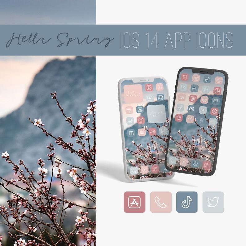Blossom app icons