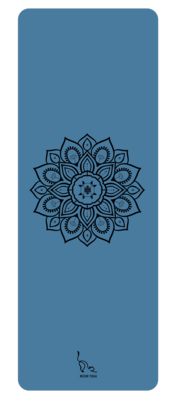 Mandala Yoga Mat (Blue)