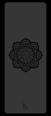 Mandala Yoga Mat (Black)