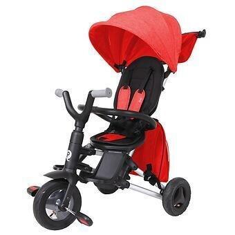 Велоколяска Qplay S 700 Nova Red с сумкой