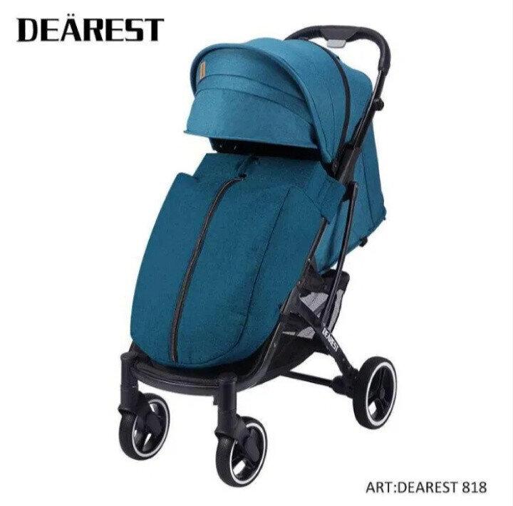 Прогулочная коляска DEAREST 818 Бирюзовый
