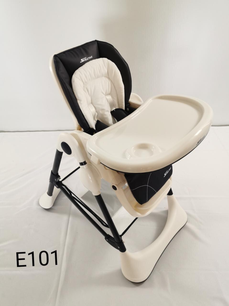 Детский стульчик для кормления Teknum E-101,black
