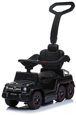Детский толокар каталка Hollicy Mercedes-Benz G63 AMG 6x6 Черный