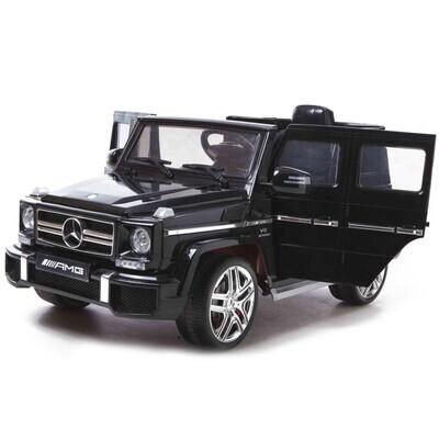 Электромобиль Mercedes Benz G63, черный