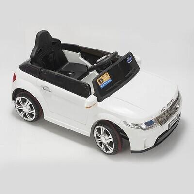 Электромобиль Land Rover FB-719, белый