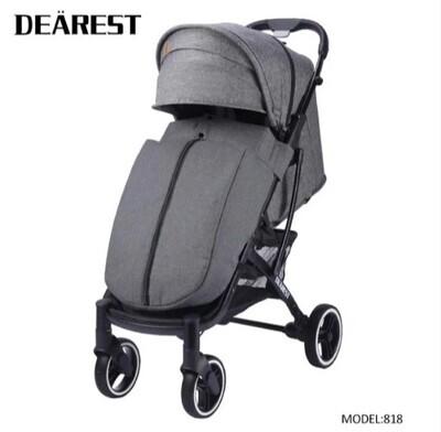 Прогулочная коляска DEAREST 818 Серый