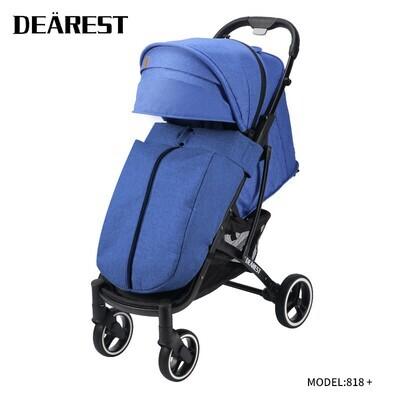 Прогулочная коляска DEAREST 818 Plus Синий