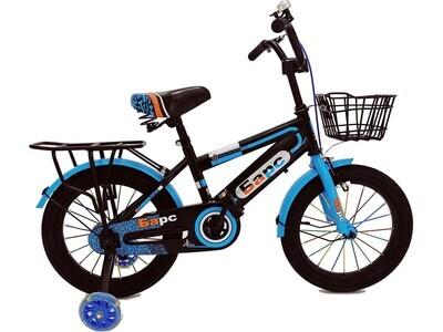 Велосипед Барс 16 2020 черный-голубой