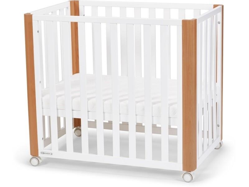 Кроватка Kinderkraft Koya White с матрасом белый