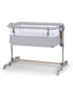 Кроватка Kinderkraft Neste Air Grey Light Melange Full Wood