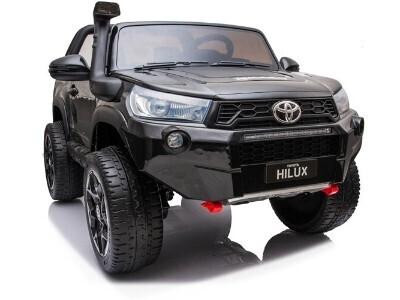 Детский электромобиль Ridechild Toyota Hilux License серый