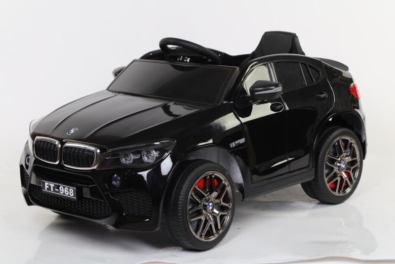 Детский электромобиль BMW 968 черный