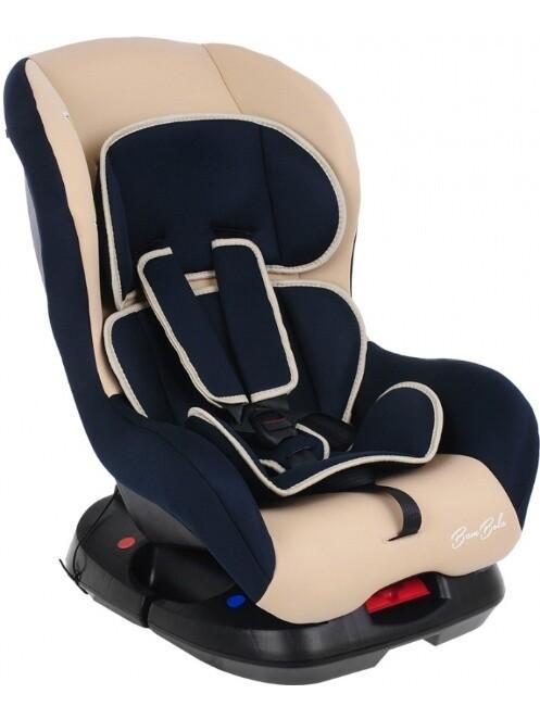 Детское автокресло BAMBOLA KRES2943 синий-бежевый 0-18 кг