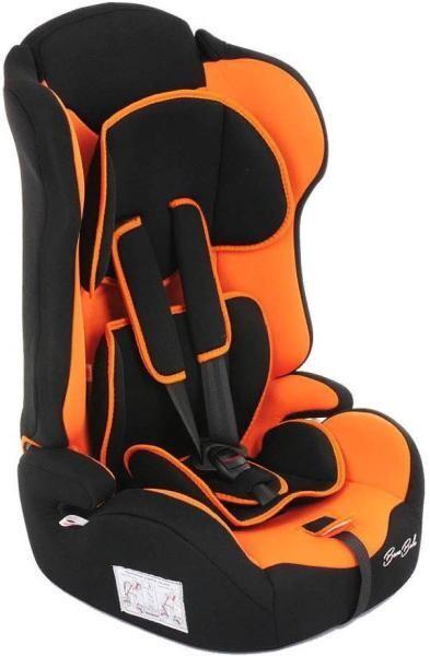 Детское автокресло BamBola Primo черный-оранжевый