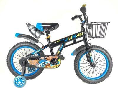 Велосипед JIAHAO Urban kids 16 2021 черный-синий