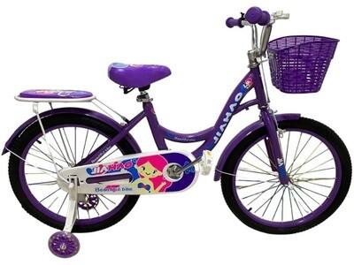 Велосипед JIAHAO Urban kids 20 2021 фиолетовый