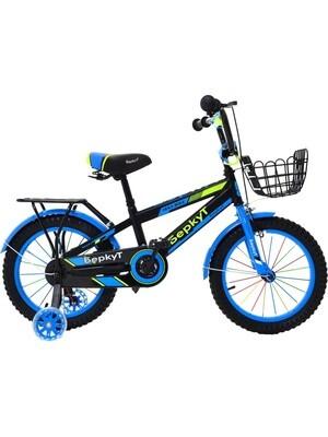 Велосипед BERKUT 16 2020 черный-синий