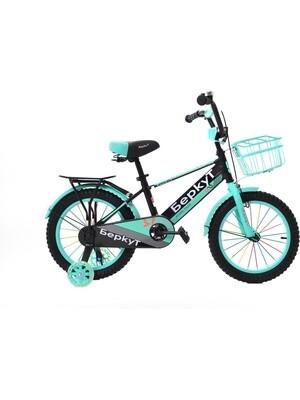 Велосипед BERKUT 16 2020 черный-бирюзовый