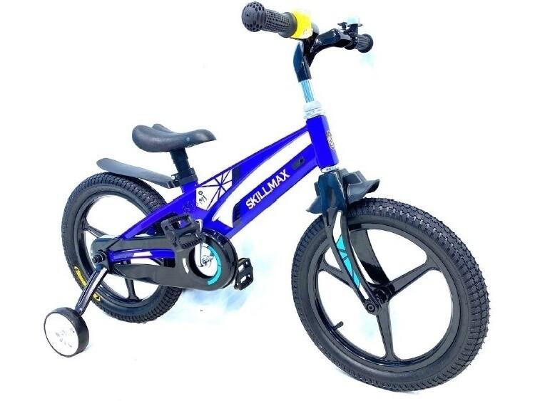 Велосипед Skilmax 16 2021 синий