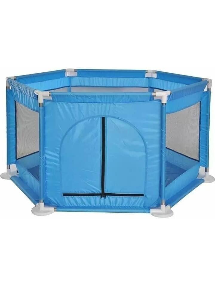 Детская игровая палатка Happy Game Fence 21001 Манеж игровой голубой