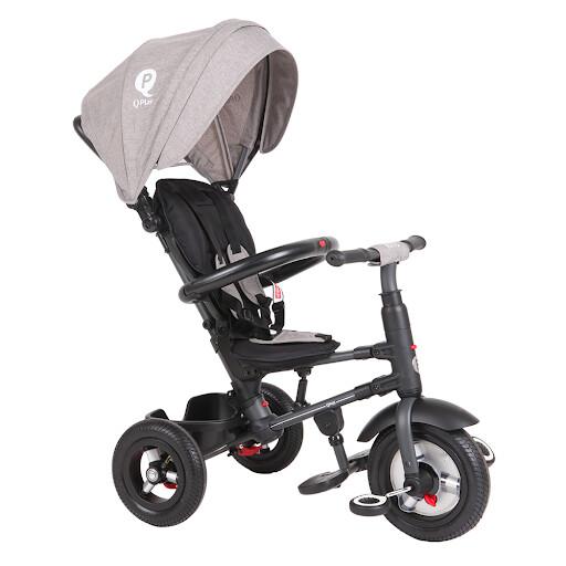 Велоколяска QPlay RITO Rubber Grey