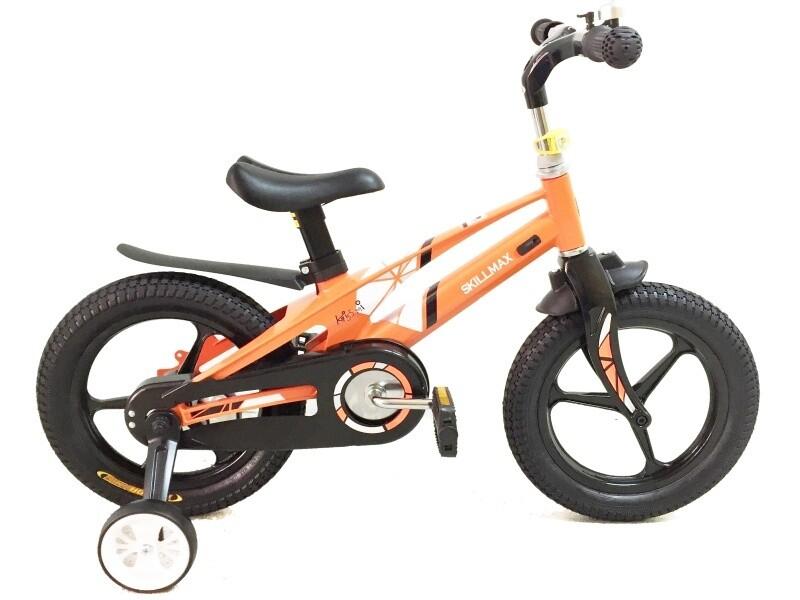 Велосипед Skillmax Allum 14 2021 8 оранжевый