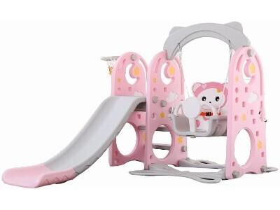 Игровой комплекс Allegro Мишутка розовый
