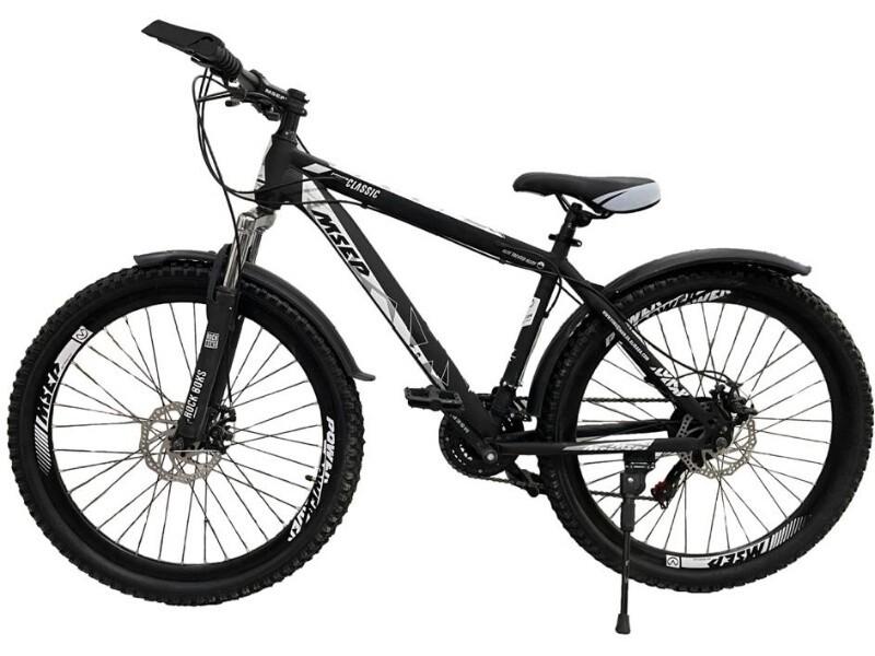 Велосипед MSEP Power Classic 26 2021 17 черный-белый